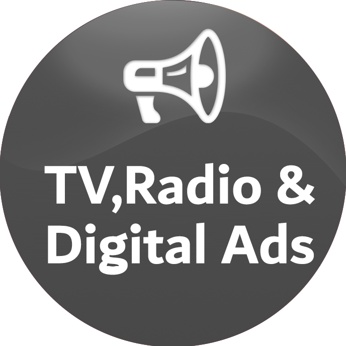 TV, Radio & Digital Ads